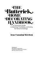 The Butterick Home Decorating Handbook