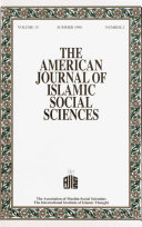 American Journal of Islamic Social Sciences 15 2