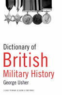 Dictionary of British Military History