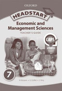 Books - Headstart Economic & Management Sciences Grade 7 Teachers Guide   ISBN 9780195996401