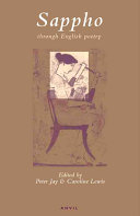 Sappho Through English Poetry