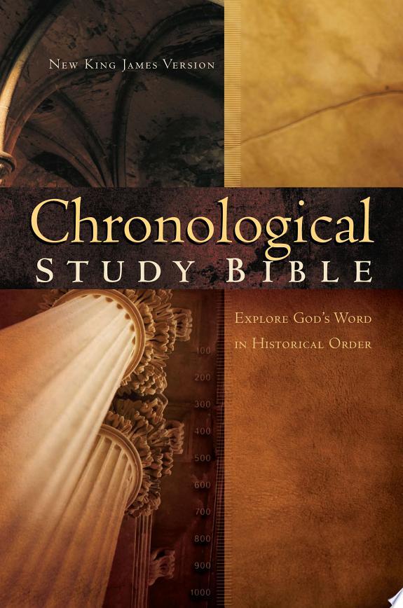 The Chronological Study Bible