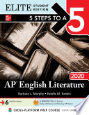 5 Steps to a 5  AP English Literature 2020 Elite Student edition