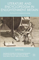 Pdf Literature and Encyclopedism in Enlightenment Britain