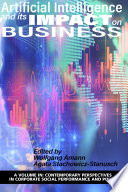 Artificial Intelligence And Its Impact On Business Book PDF