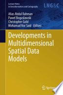 Developments In Multidimensional Spatial Data Models Book PDF