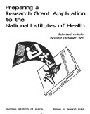 Preparing a Research Grant Application to the National Institute of Health