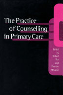 The Practice of Counselling in Primary Care