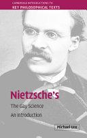 Nietzsche's The Gay Science