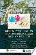 Green Synthesis in Nanomedicine and Human Health