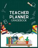 Teacher Planner Gradebook Book