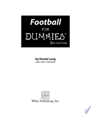 Download Football For Dummies® Free Books - EBOOK