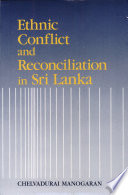 Ethnic Conflict And Reconciliation In Sri Lanka