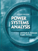 Cover of Power Systems Analysis