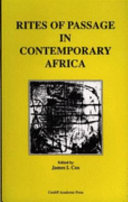 Rites of Passage in Contemporary Africa