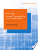 Financing Surface Transportation in the United States