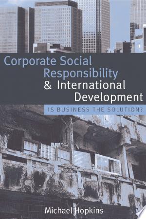 Corporate+Social+Responsibility+and+International+Development