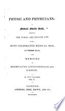 Physic and Physicians