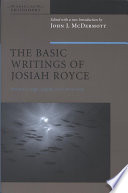 The Basic Writings Of Josiah Royce Volume Ii