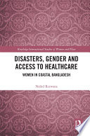Disasters  Gender and Access to Healthcare Book