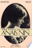 """The Early Diary of Anaïs Nin, 1920–1923"" by Anaïs Nin, Joaquin Nin-Culmell"
