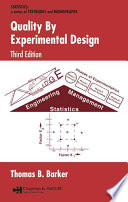 Quality By Experimental Design, 3rd Edition