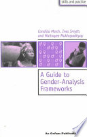 A Guide to Gender analysis Frameworks