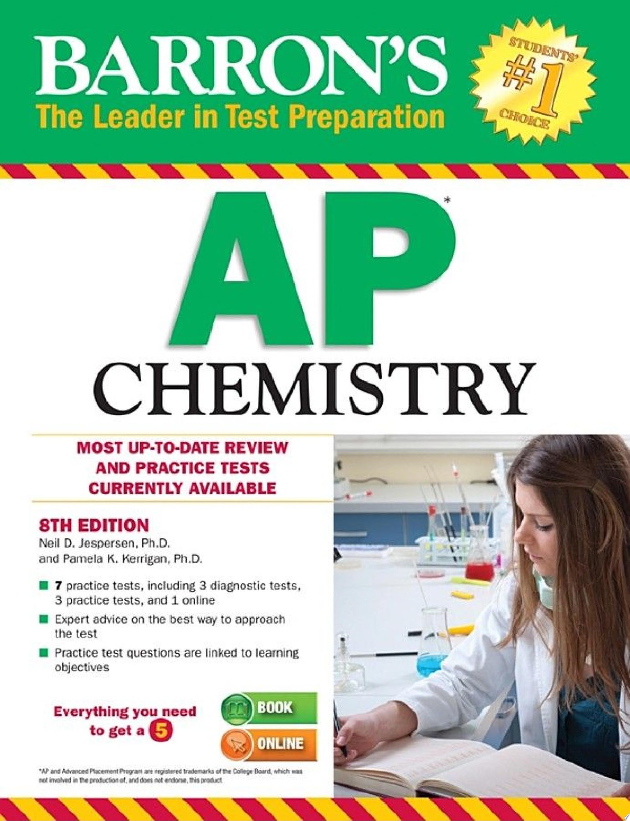 Barron s AP Chemistry  8th Edition