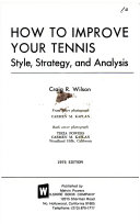 How to Improve Your Tennis  Style  Strategy  and Analysis
