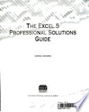 The Excel 5 professional solutions guide