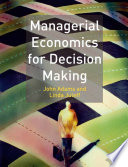 Managerial Economics for Decision Making Book