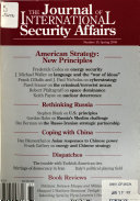 The Journal of International Security Affairs