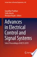 Advances in Electrical Control and Signal Systems