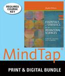Bndl  Essentials of Statistics for the Behavioral Sciences