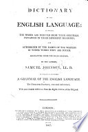 A Dictionary of the English Language  abstracted from the folio edition     Twelfth edition      with     additions from the eighth edition of the original Book PDF