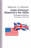 Anglo American Relations in the 1920s