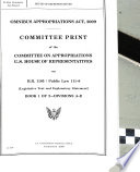 Omnibus Appropriations Act  2009