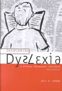 Overcoming Dyslexia in Children  Adolescent  and Adults Book