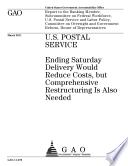 U. S. Postal Service (USPS)