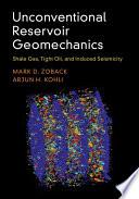 Unconventional Reservoir Geomechanics Book