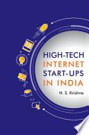 High tech Internet Start ups in India Book