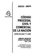 Código procesal civil y comercial de la nación
