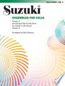 Ensembles for Cello  Volume 3