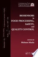 Biosensors In Food Processing Safety And Quality Control Book PDF