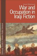 War and Occupation in Iraqi Fiction Pdf/ePub eBook