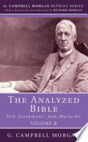 The Analyzed Bible  Volume 2