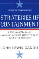 Strategies of Containment Pdf/ePub eBook