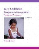 Pdf Early Childhood Program Management