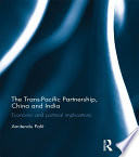 The Trans Pacific Partnership China And India Book PDF