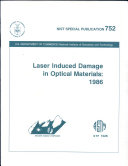 Laser induced damage in optical materials: 1986